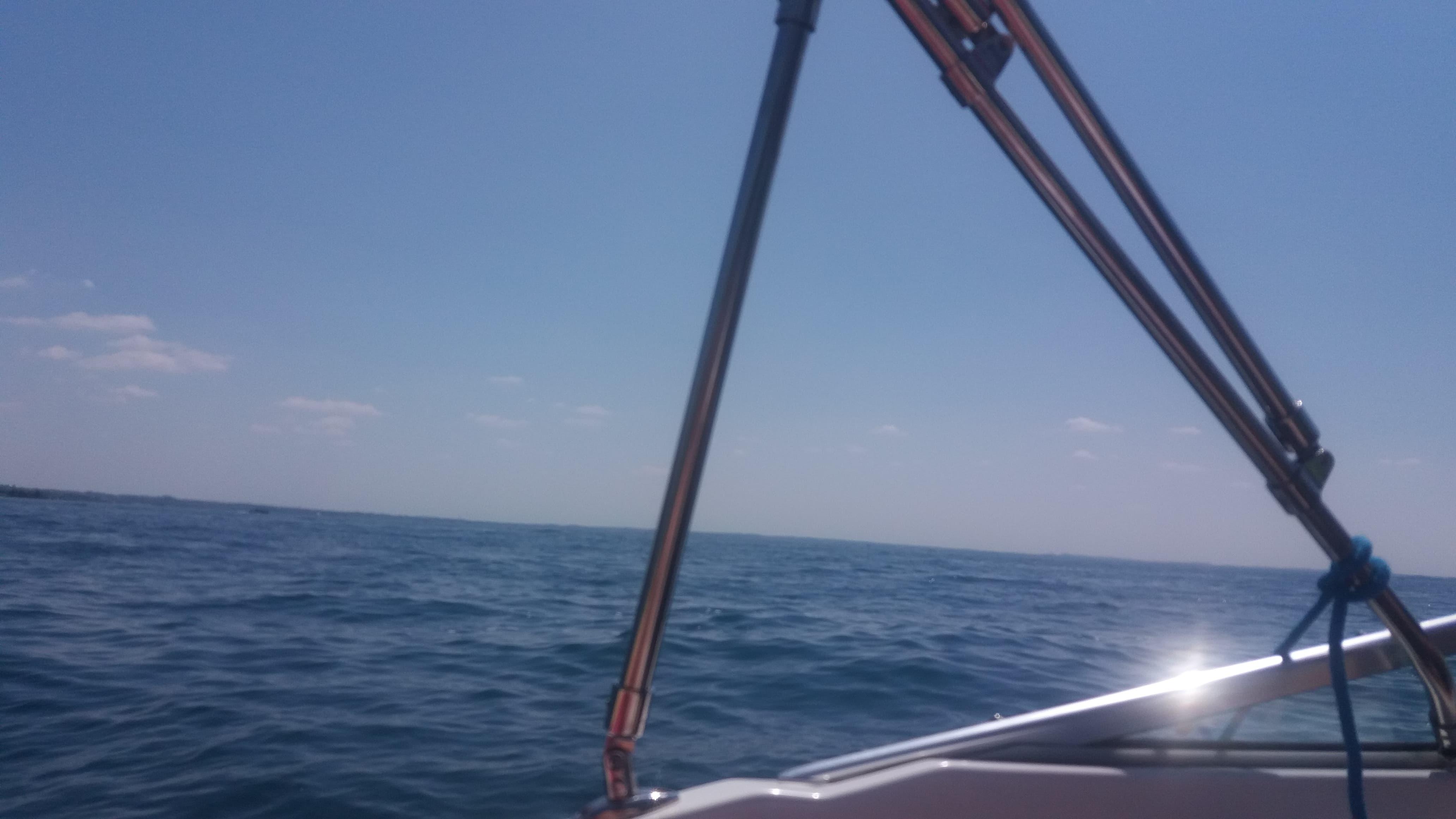 See vom Boot aus gesehen