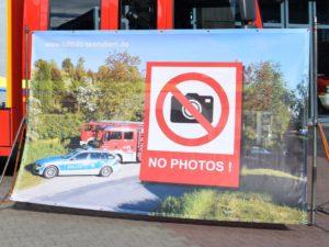 """Sichtschutz """" no Photos """""""