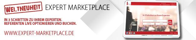 Expert Marketplace - Vortrag anfragen